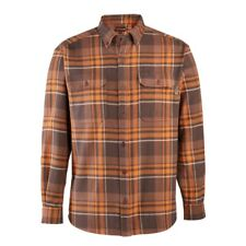 Wolverine Men Glacier Heavyweight Long Sleeve Flannel Shirt (Big & Tall)