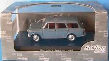 FIAT 1100 R 1966 FAMILIARE GREY CENERE STARLINE 511018 1/43 BREAK SW ESTATE GRIS