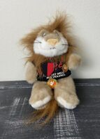 "10"" Plush Daren The Lion Stuffed Animal Plush DARE To Resist Drugs And Violence"