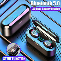 Hot Bluetooth 5.0 Headset TWS Wireless Earphones Mini Stereo Headphones Earbuds