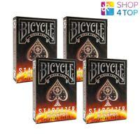 4 DECK BICYCLE STARGAZER SUNSPOT SPIELKARTEN MAGISCHE TRICKS POKER CARDS NEU
