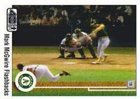 2002 Upper Deck 40-Man Baseball Mark McGwire Flashback #MM3 Oakland Athletics