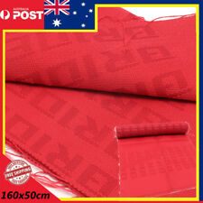 160x50 cm Bride Gradation Seat Fabric Cloth Material Straight Red Sheets