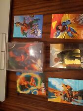 1994 DC COMICS MASTER SERIES COMPLETE  90 CARD SET + 5 Chrome Cards All Mint!