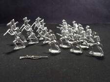 Lot of 18 Lead Soldiers and 1 Lead Shotgun