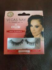 Eylure Vegas Nay Lashes Easy Elegance - False Fake Eyelashes Natural Looking