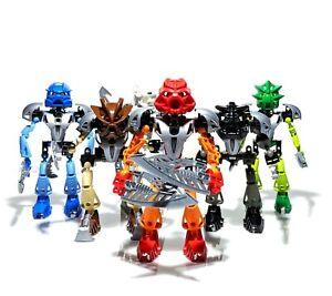 LEGO Bionicle Toa Nuva Complete Set of 6: 8566 8567 8568 8570 8571 8572