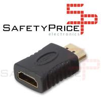 Adaptador conector HDMI Hembra a HDMI Macho ref1921