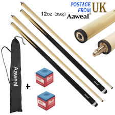 "Aaweal Adult 57"" sport Hardwood Billiard cue House Sticks Snooker/Pool Cue 12oz"