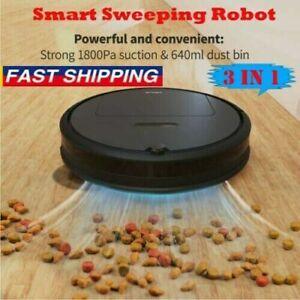 Smart Robot Vacuum Cleaner Automatic Sweeper Floor Carpet Clean D5K5