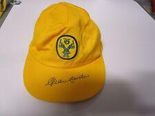 Allan Border (Australia) signed Australian ODI Cap from the 1980's- old ACB logo