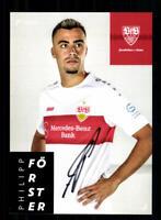 Philipp Förster  Autogrammkarte VFB Stuttgart  2019-20  Original Signiert