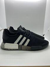 Adidas NMD_R1 Boost Black/White Mens Shoe Size 12( FV3649)