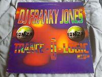 DJ Franky Jones – Trance-O-Logic EP Hard Trance Acig Vinyl (VG)
