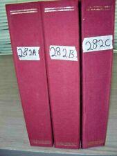 RUSSIA, Excellent Stamp Collection hinged in 3 Volume Schaubek album