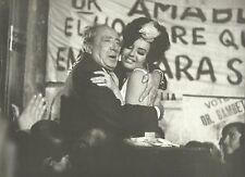"""ISABEL SARLI & PEPE ARIAS in """"La Señora del Intendente"""" Original Vint Photo 1965"""