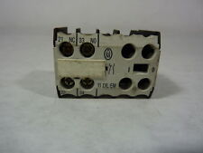 Moeller 11DILEM Miniature Auxiliary Contact Block 500V 10A ! WOW !