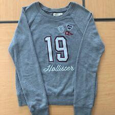 Hollister Grey Varsity Sweatshirt Size XS