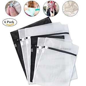 3x Large Laundry Bag Washing Mesh Net Drawstring 50x60cm Underwear Bra HeavyDuty