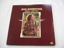 PHIL ROSENTHAL - INDIAN SUMMER - LP VINYL 1978 FLYING FISH - EXCELLENT