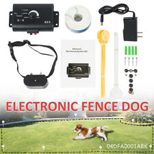 Electric Dog Pet Fence Shock Collars For 1 Dog Fence System New