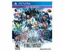 World of Final Fantasy (Sony PlayStation Vita, 2016)