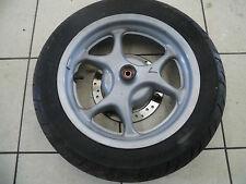 B1. Honda Nes 125  JF07 Felge vorne Vorderrad + Reifen + Bremsscheibe 5mm