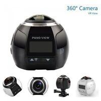 360° Grad Panorama Kamera 3D VR Action Sport Cam WLAN 16MP 4K HD VR Video