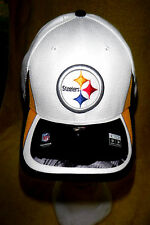NEW W/STICKERS-PITTSBURGH STEELERS NEW ERA 39 THIRTY MED./LG. TRAINING TEAM CAP