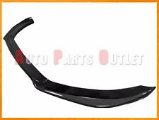 P Style Carbon Fiber Front Bumper Spoiler Lip For 2009-2012 AUDI S4 B8 Only