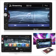 """Coche 7"""" 2Din Bluetooth Radio Reproductor multimedia MP5 FM/TF/USB AUX + Control Remoto"""