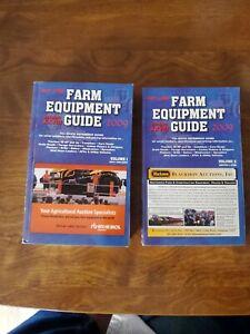 Hot Line , Blue Book Farm Equipment Guide , 2009 Edition  Vol 1&2 New Condition!