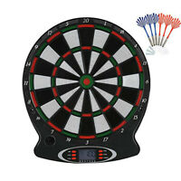 Electronic Darts Target, Professional Darts with 6 Safety Darts