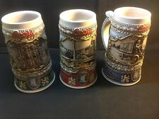 Coors Stein 1998, 1999, 1990 Collectors Lot
