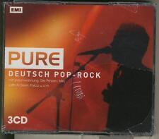 PURE DEUTSCH POP ROCK Sealed 3 CD BOX FALCO RHEINGOLD NINA HAGEN 2 RAUMWOHNUNG B