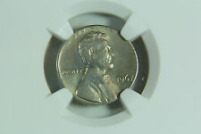 Rare Lincoln Cent Struck On A Dime Error Coin NGC MS 66 1967