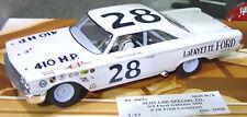 REVELL MONOGRAM 4892 63' FORD NASCAR FRED LORENZEN 1/32 SLOT CAR LIMITED EDITION