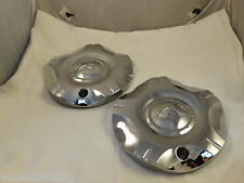 ALBA Wheels Chrome Custom Wheel Center Caps Set of 2
