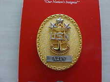 US Navy MCPON E-10 Full size Breast Insignia Master Chief Petty Officer of Navy