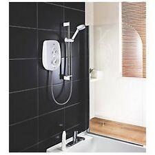 Mira Vie Manual Electric Shower White/Chrome 9.5kW