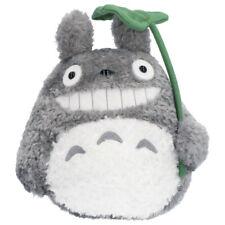 My Neighbor Big Totoro Fluffy Plush Doll M Leaf Laugh Studio Ghibli Japan