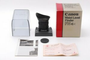 Canon WAIST LEVEL FINDER FN-6X for New F-1 N SLR Camera From Japan Near Mint
