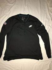 Nike Drifit On Field Apparel Philadelphia Eagles Pullover Size Large