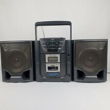 JVC PC-X101 AM/FM CD Cassette Stereo Portable Boombox Active Hyper-Bass Pro Vint