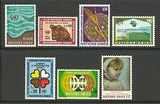 Un-Geneva # 15-21, 1971 Annual Set, Unused Nh