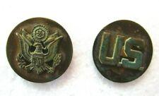 Pair Of WW2 US Army Uniform Pins