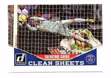 SALVATORE SIRIGU 2015 PANINI DONRUSS Soccer, Clean Sheets!!!