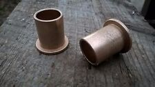 "Qty 2pc, Bronze Flanged Bushing,Oilite, SF-2024-14, 5/8""x 3/4""x 1"" Made In USA"