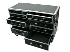 cases | pro-work-sxs | side-by-side 10-drawer utility case | free-standing lid