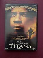Remember the Titans (2000) DVD Denzel Washington